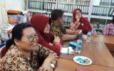 Tamu Bank Mandiri Taspen untuk Memberi Info Guru yang akan Pensiun