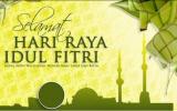 Ucapan Selamat Hari Idul Fitri 1441 H.