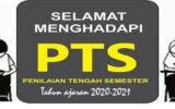 Jadwal Susulan PTS Semester 2 T.A. 2020-2021